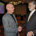 Cleveland Mayor Frank Jackson with Doug